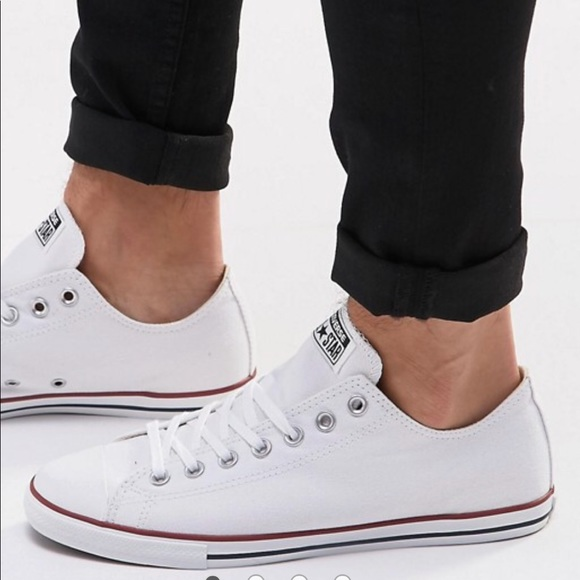 6c863f3a3fca6f NWT Converse CT Lean OX White WMNS AUTHENTIC